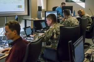Cyber Team Guard's Election Network